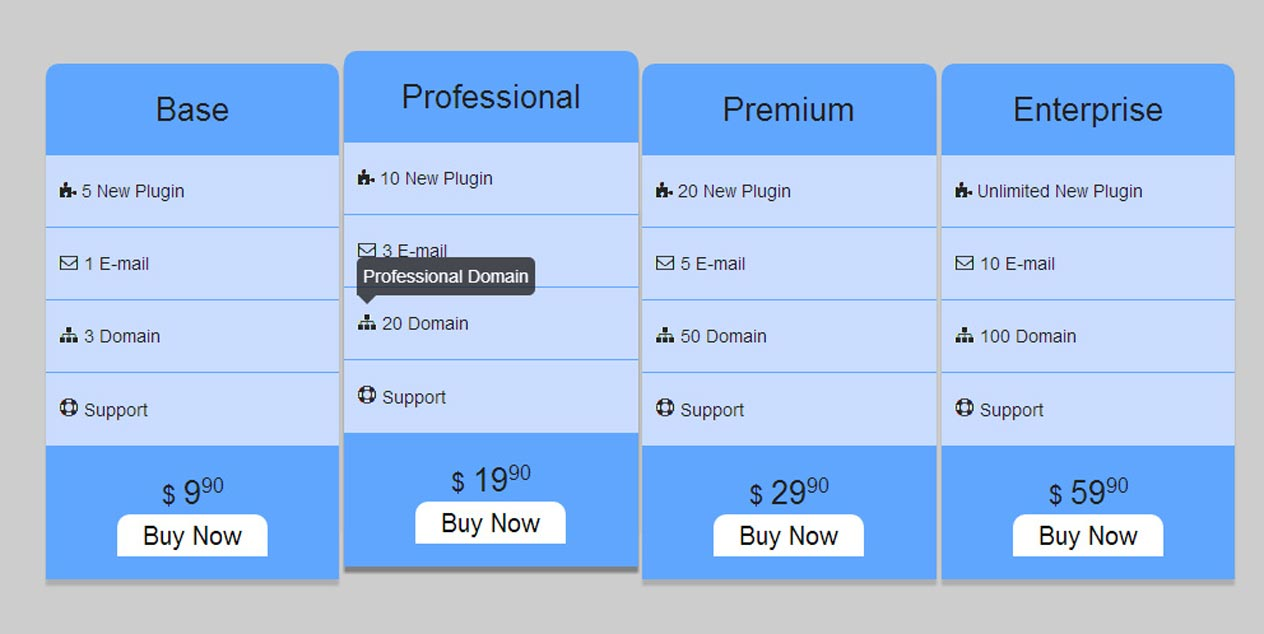 pricing-table-css3