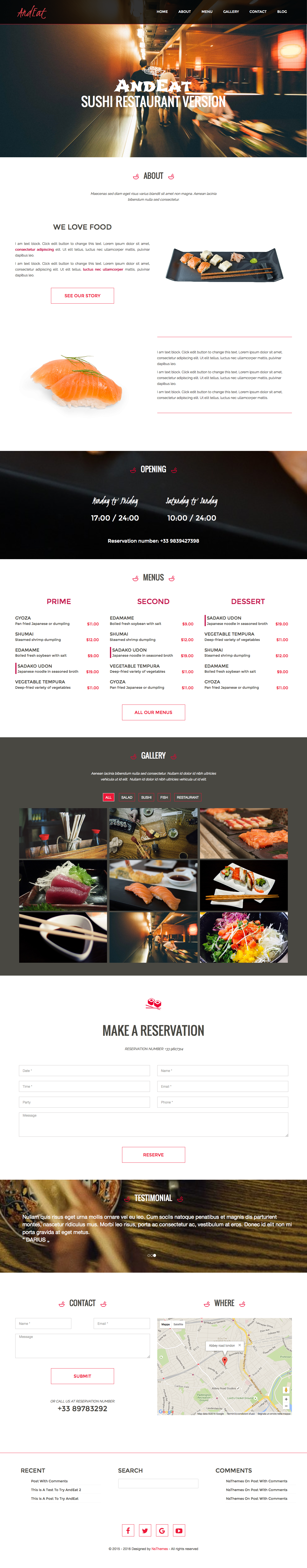 AndEat – Sushi style