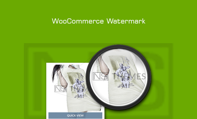 woocomerce watermark