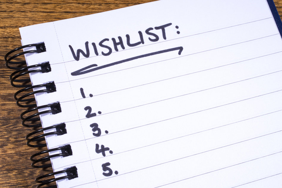 buying wishlist
